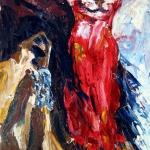 Валентин Шунков. Красный абиссинский кот на моём плече (Тот, кто нашёптывает мысли)